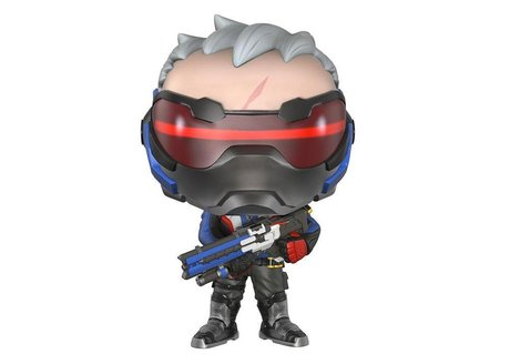 Фигурка Funko Pop Games Exclusive: Overwatch – Soldier 76 #96, Exclusive, Vinyl Figure