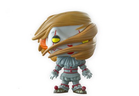 Фигурка Funko Pop Movies: IT – Pennywise With Wig #474, Vinyl Figure