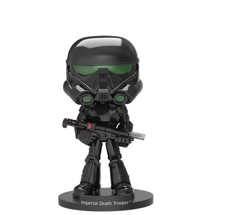 Фигурка Funko Wobbler Movies: Star Wars - Imperial Death Trooper, Vinyl Figure