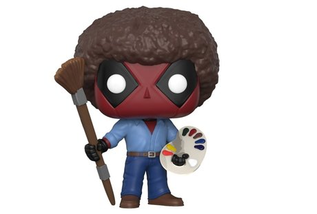 Фигурка Funko Pop Marvel : Deadpool Playtime –  Deadpool Bob Ross #319, Vinyl Figure