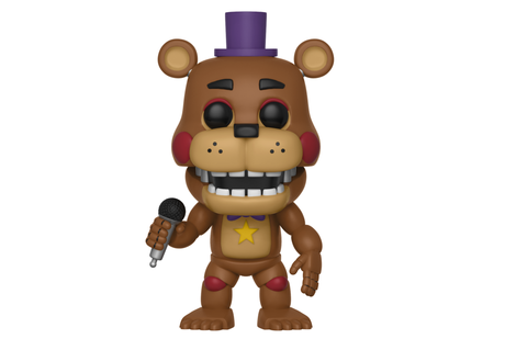 Фигурка Funko Pop Games: Five Nights At Freddy's: Pizza Sim – Rockstar Freddy #362, Vinyl Figure