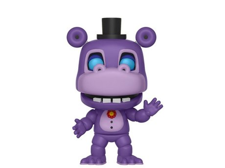 Фигурка Funko Pop Games: Five Nights At Freddy's: Pizza Sim – Mr. Hippo #368, Vinyl Figure