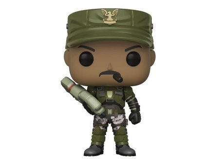 Фигурка Funko Pop Games: Halo – Sgt. Johnson Chase #08, Vinyl Figure