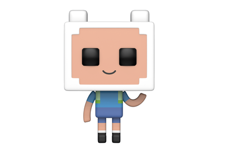 Фигурка Funko Pop Animation: Adventure Time X Minecraft - Finn #411, Vinyl Figure