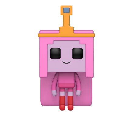 Фигурка Funko Pop Animation: Adventure Time X Minecraft - Princess Bubblegum #415, Vinyl Figure