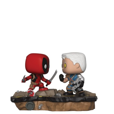 Фигурка Funko Pop Marvel : Movie Moments: Deadpool vs Cable #318, Vinyl Figure