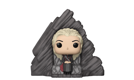 Фигурка Funko Pop Rides: Game of Thrones – Daenerys on Dragonstone Throne #63, Vinyl Figure
