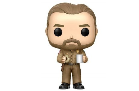 Фигурка Funko Pop Television: : Stranger Things - Hopper with Donut Chase #512, Vinyl Figure