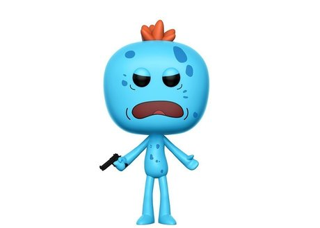 Фигурка Funko Pop Television: Rick & Morty - Mr. Meeseeks Chase #174, Vinyl Figure