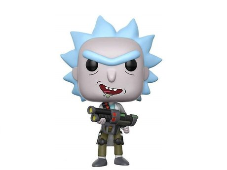 Фигурка Funko Pop Television: Rick & Morty - Weaponized Rick Chase #172, Vinyl Figure