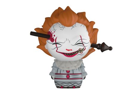 Фигурка Funko Dorbz: IT - Pennywise w/ Wrought Iron #474, Vinyl Figure