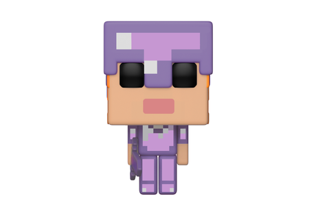 Фигурка Funko Pop Games: Minecraft – Alex w/ Enchanted Armor #325, Exclusive, Vinyl Figure