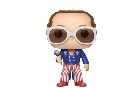 Фигурка Funko Pop Rocks: Elton John Glitter #63, Exclusive, Vinyl Figure