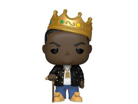 Фигурка Funko Pop Rocks: Notorious B.I.G. w/h Crown #77, Vinyl Figure