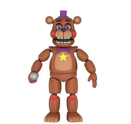 Екшън фигурa Funko Pop Games: Five Nights At Freddy's Pizza Sim - Rockstar Freddy