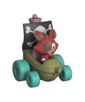 Фигурка Funko Super Racers: Five Nights At Freddy's – Foxy The Pirate #01, Vinyl Figure