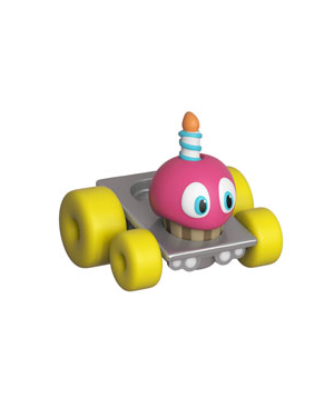 Фигурка Funko Super Racers: Five Nights At Freddy's – Cupcake #03, Vinyl Figure
