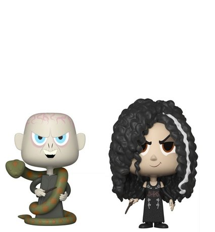 Фигурки Funko VYNL Movies : Harry Potter – Lord Voldemort & Bellatrix Lestrange , Vinyl Figure