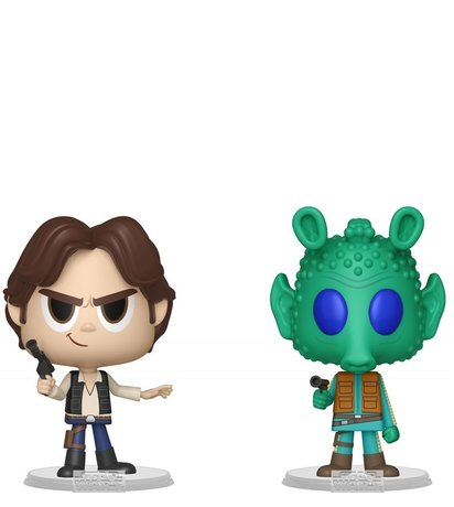 Фигурки Funko VYNL 2-Pack: Star Wars: Han Solo & Greedo, Vinyl Figure