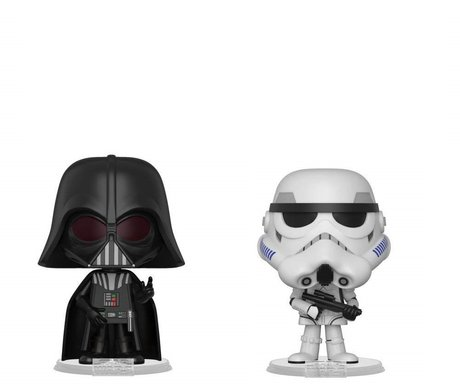 Фигурки Funko VYNL 2-Pack: Star Wars: Darth Vader & Stormtrooper, Vinyl Figure