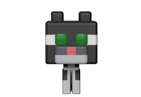 Фигурка Funko Pop Games: Minecraft – Tuxedo Cat #332, Chase, Vinyl Figure