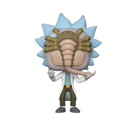 Фигурка Funko Pop Television: Rick & Morty - Rick Facehugger #343, Exclusive, Vinyl Figure