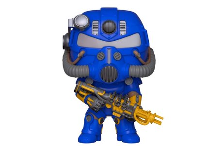Фигурка Funko Pop Games: Fallout – T-51 Power Armor (Vault Tec)  #370, Exclusive, Vinyl Figure