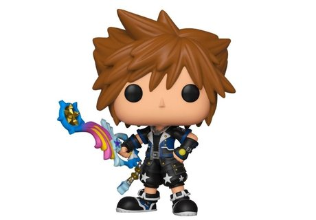Фигурка Funko Pop Games: Kingdom Hearts - Sora (Drive Form) #491, Exclusive, Vinyl Figure
