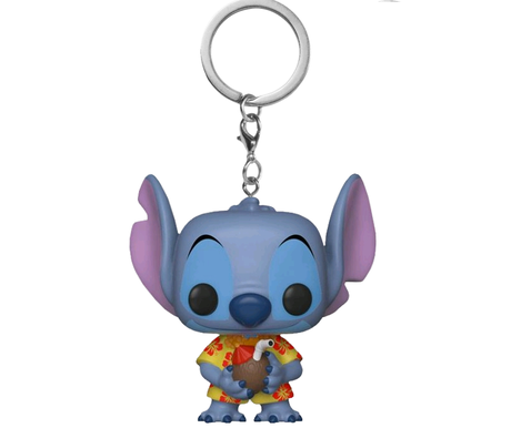 Ключодържател Funko Pocket Pop Disney: Lilo & Stitch – Aloha Stitch, Exclusive, Figure Keychain