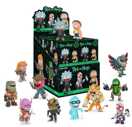 Фигурка Funko Mystery Mini : Rick & Morty Blind Box, Exclusive