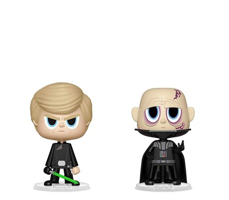 Фигурки Funko VYNL 2-Pack: Star Wars: Darth Vader & Luke Skywalker, Vinyl Figure