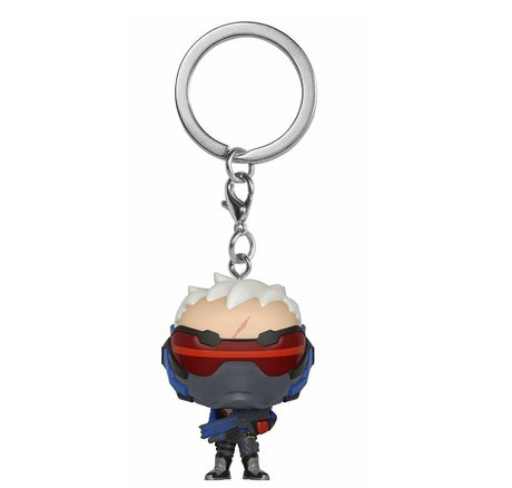Ключодържател Funko Pocket Pop Games: Overwatch – Soldier 76, Figure Keychain