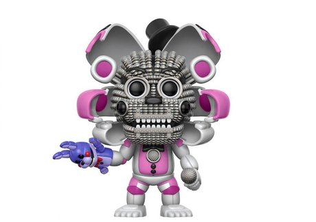 Фигурка Funko Pop Games: Five Nights At Freddy's Sister Location – Funtime Freddy, Chase #225, Vinyl Figure