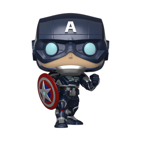 Фигурка Funko Pop Games: Marvel: Avengers - Captain America #627, Vinyl Figure