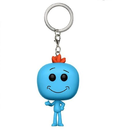 Ключодържател Funko Pocket Pop: Rick & Morty – Mr. Meeseeks, Figure Keychain