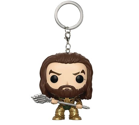 Ключодържател Funko Pocket Pop: Justice League – Aquaman, Figure Keychain