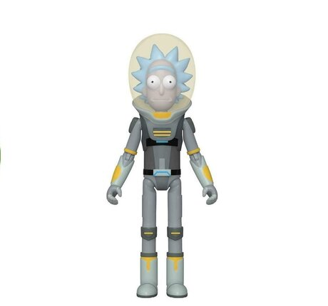 Екшън фигурa Funko Pop Animation: Rick & Morty- Space Suit Rick