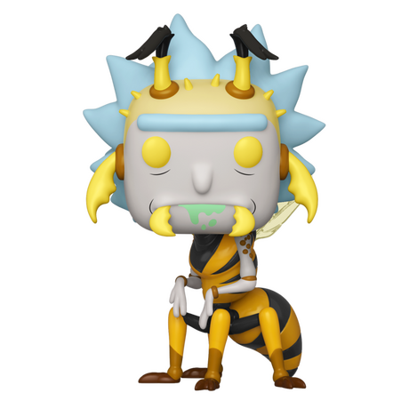 Фигурка Funko Pop Television: Rick & Morty - Wasp Rick #663, Vinyl Figure