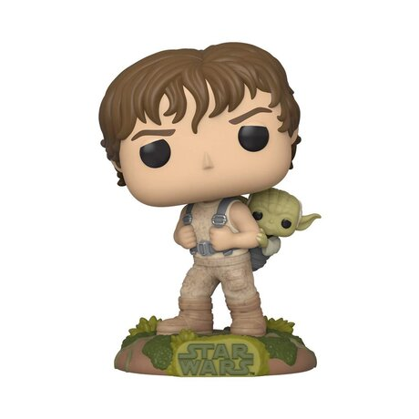 Фигурка Funko Pop Movies: Star Wars - Training Luke with Yoda #363, Vinyl Figure
