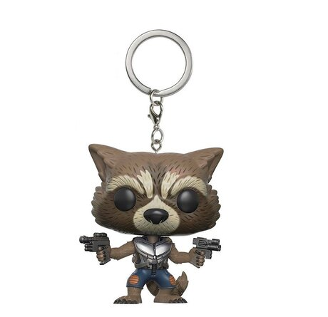 Ключодържател Funko Pocket Pop: Guardians Of The Galaxy – Rocket, Figure Keychain