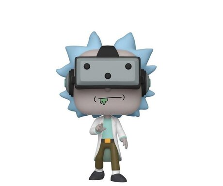 Фигурка Funko Pop Television: Rick & Morty - Rick w/VR #741, Exclusive, Vinyl Figure