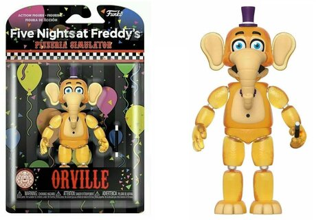Екшън фигурa Funko Pop Games: Five Nights at Freddy's Pizza Simulator – Orville GLOW