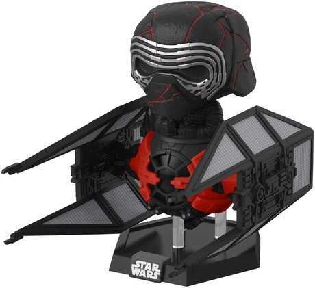 Фигурка Funko Pop Deluxe: Star Wars The Rise Of Skywalker - Kylo Ren in Whisper #321, Vinyl Figure