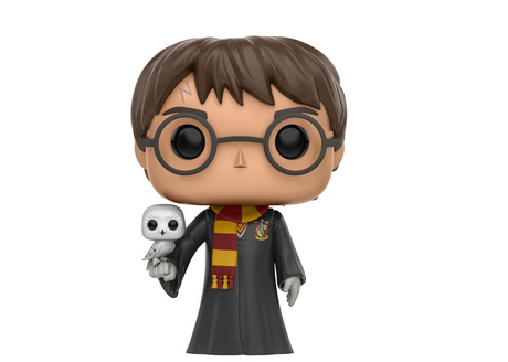 Фигурка Funko Pop Movies: Harry Potter - Harry w/ Hedwig #31, Exclusive, Vinyl Figure