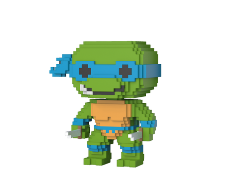 Фигурка Funko Pop 8-Bit : Teenage Mutant Ninja Turtles – Leonardo #04, Vinyl Figure