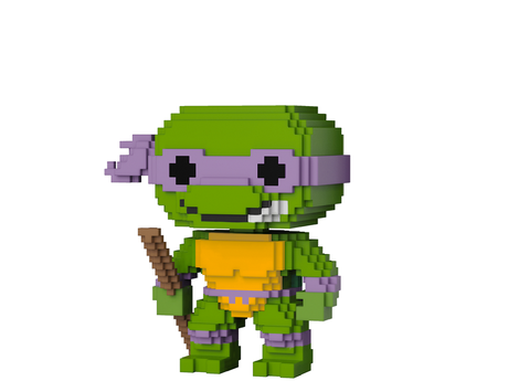 Фигурка Funko Pop 8-Bit : Teenage Mutant Ninja Turtles – Donatello #05, Vinyl Figure