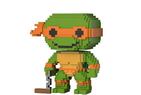 Фигурка Funko Pop 8-Bit : Teenage Mutant Ninja Turtles – Michelangelo #07, Vinyl Figure