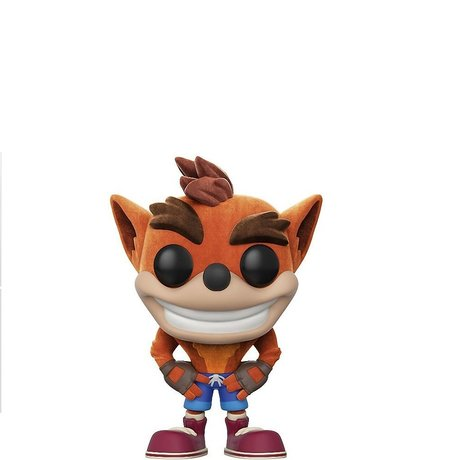 Фигурка Funko Pop Games: Crash Bandicoot – Crash Bandicoot Flocked #273, Vinyl Figure
