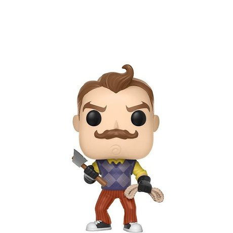 Фигурка Funko Pop Games: Hello Neighbor: Neighbor w/ Axe & Rope #262, Vinyl Figure