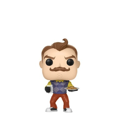 Фигурка Funko Pop Games: Hello Neighbor: Neighbor w/ Milk & Cookies #263, Vinyl Figure